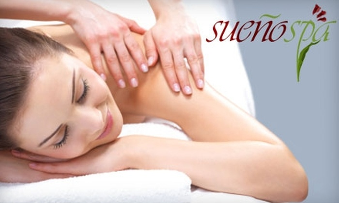 Sueño Spa - Vancouver: $60 for a 45-Minute Swedish Massage and a Sueño Ultimate Pedicure with Paraffin Wax Add-On at Sueño Spa in the Sheraton Guildford Hotel ($132.16 Value)