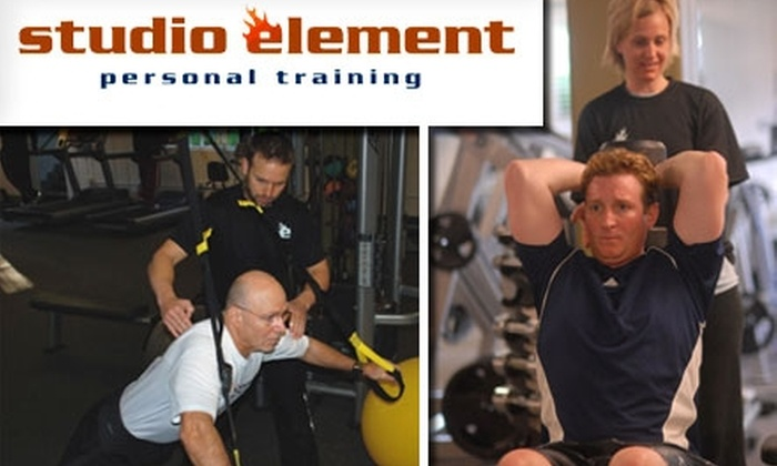 Studio Element Personal Training - Richmond Heights: $39 for Three Personal Training Sessions at Studio Element Personal Training ($165 Value)