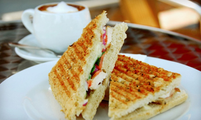 La Mia Cafe - Washington Ave./ Memorial Park: Meals for Two or Four or French Fare at La Mia Cafe