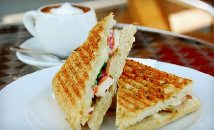 La Mia Cafe: Panini Meal for Two - La Mia Cafe in Houston