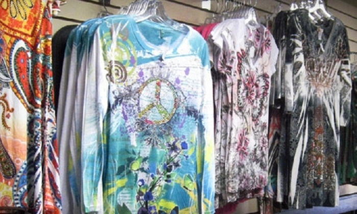 Just Tees'n - Downtown Amarillo: $10 for $20 Worth of Jewelry, Accessories, and Clothing at Just Tees'n