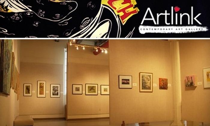 Artlink - Downtown Fort Wayne: $10 for an Individual Annual Membership to Artlink