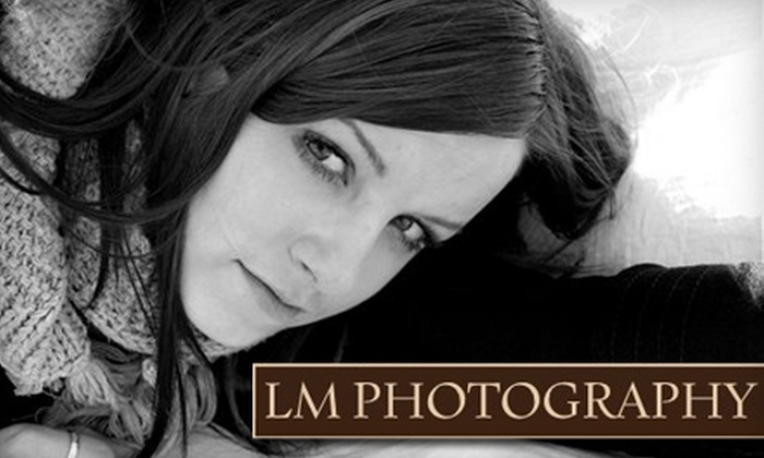 LM Photography - Manassas: $50 for One-Hour On-Location Photo Shoot and DVD of Images from LM Photography