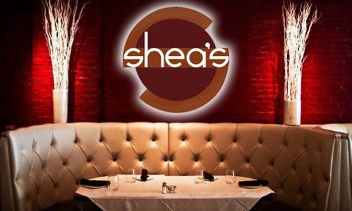 Shea's Food, Wine & Tap - East Avenue: $15 for $30 Worth of Comfort Fare and Drinks at Shea's Food, Wine & Tap