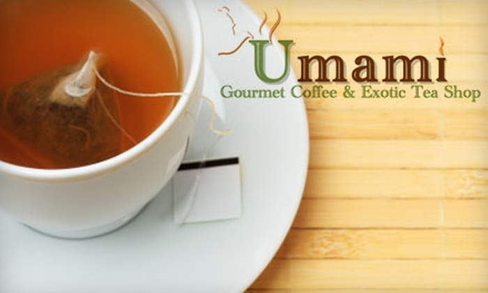 Umami Coffee & Tea Shop - Fairfield: $12 for $25 Worth of Café Fare and Beverages at Umami Gourmet Coffee & Exotic Tea