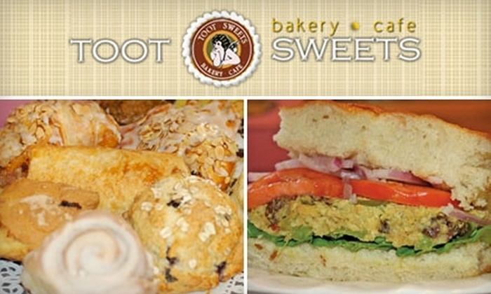 Toot Sweets Bakery and Cafe - Lakeview: $5 for $10 Worth of Desserts, Sandwiches, and More at Toot Sweets