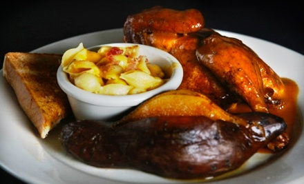 Barbecue Lunch or Dinner for 2 - The Full Slab in Grayslake