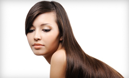 Keratin Treatment and a Glass of Wine ($300 value) - Tiramisu Salon in Alpharetta