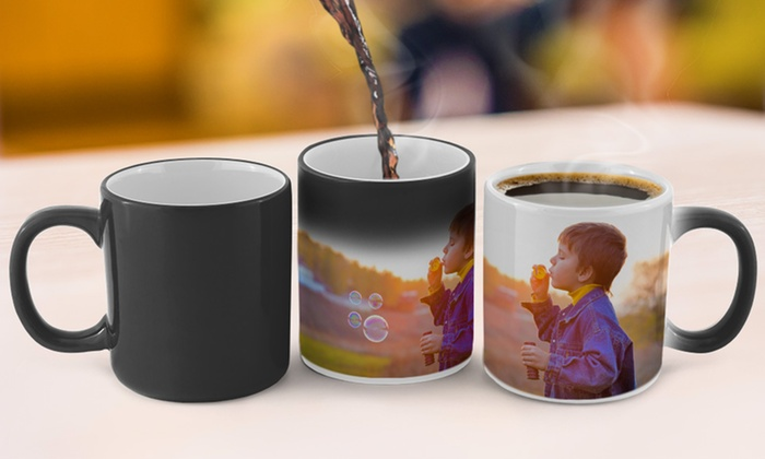CanvasOnSale: Personalized Photo Coffee Mug from CanvasOnSale (Up to 80% Off)