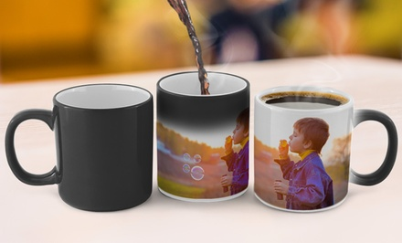 Personalized Photo Mug or Magic Photo Mug from CanvasOnSale (83% Off)