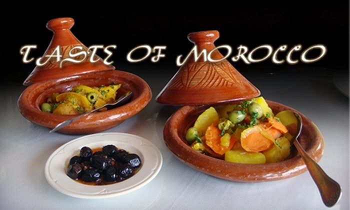 A Taste of Morocco - Multiple Locations: $20 for $40 Worth of Moroccan Cuisine at Taste of Morocco in Silver Spring