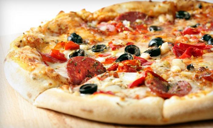 Mazerella's Upper Crust Pizza & Pasta - Sellersburg: Italian Dinner Fare for Two or Four at Mazerella's Upper Crust Pizza & Pasta in Sellersberg (Up to 53% Off)