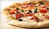 Mazerellas Upper Crust Pizza - Sellersburg: Italian Dinner Fare for Two or Four at Mazerella's Upper Crust Pizza & Pasta in Sellersberg (Up to 53% Off)