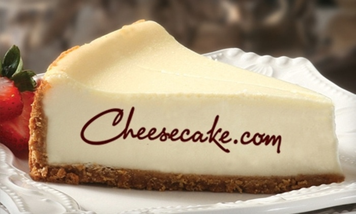Cheesecake.com: $15 for 8-Inch New York–Style Cheesecake from Cheesecake.com ($36.95 Value)