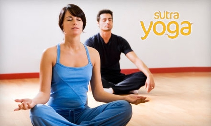 Sutra Yoga - Wallingford: $28 for 10 Yoga Classes at Sutra Yoga