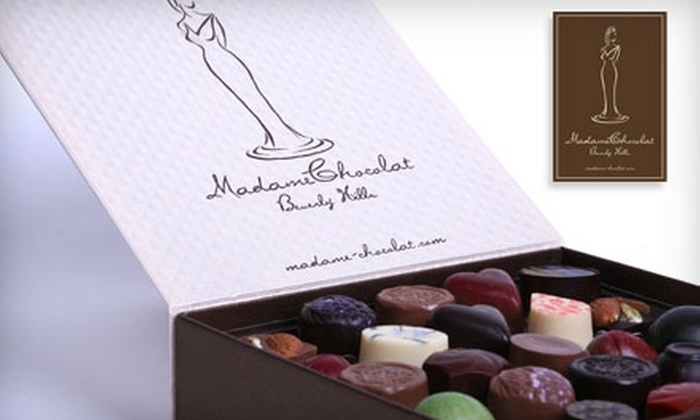 Madame Chocolat - Beverly Hills: $10 for $20 Worth of Handmade Chocolate and More at Madame Chocolat in Beverly Hills
