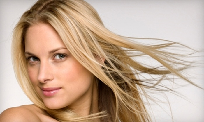 Michael Christopher Salon - Highlands: Haircut, Blow-Dry, and Deep-Conditioning at Michael Christopher Salon. Two Options Available.