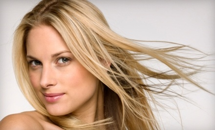 Michael Christopher Salon: Haircut, Blow-Dry, and Deep-Conditioning Treatment with a Salon Stylist  - Michael Christopher Salon in Wilmington