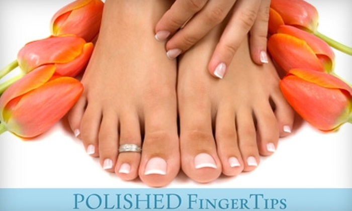 Polished FingerTips Nail Spa - Harlem: $46 for a Sphatika Signature Mani-Pedi at Polished FingerTips Nail Spa ($103 Value)