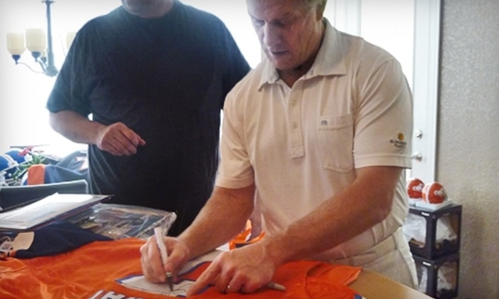 Powers Collectibles: $239 for One John Elway–Signed Denver Broncos Jersey from Powers Collectibles ($488.95 Value)
