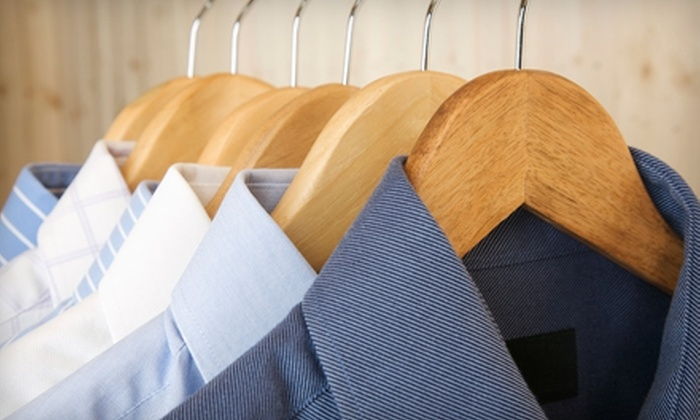 Corner Cleaners - Cliff Haven: Dry Cleaning or Wash of Two Comforters or $15 for $30 Worth of Services at Corner Cleaners in Costa Mesa