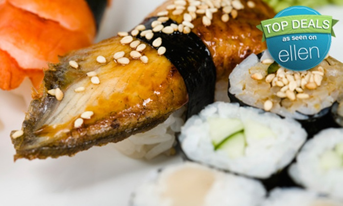 Fu Sushi - East Village: $25 for $50 Worth of Sushi Plus Dessert at Fu Sushi (Up to $56 Value)
