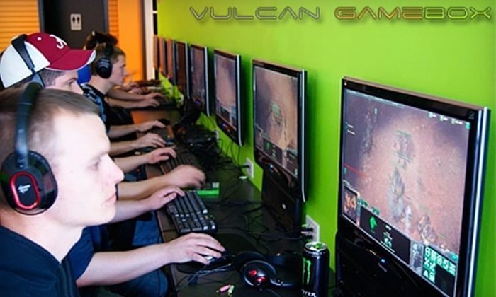 Vulcan GameBox - Alabaster-Helena: $14 for Seven Hours of Gaming Rollover Minutes at Vulcan GameBox ($28 Value)