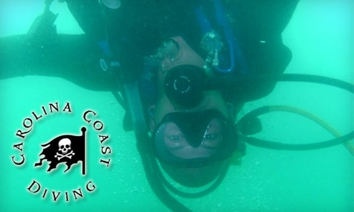 Carolina Coast Diving - Downtown Fayetteville: $30 for a Two-Hour Discover Scuba Class at Carolina Coast Diving