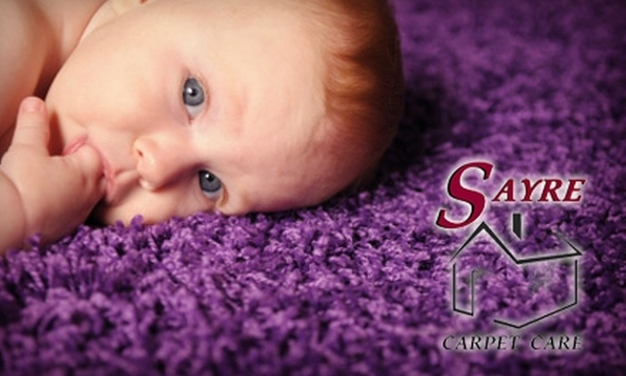 Sayre Carpet Care - Wyoming: $33 for One Room of Carpet Cleaning from Sayre Carpet Care ($68 Value)