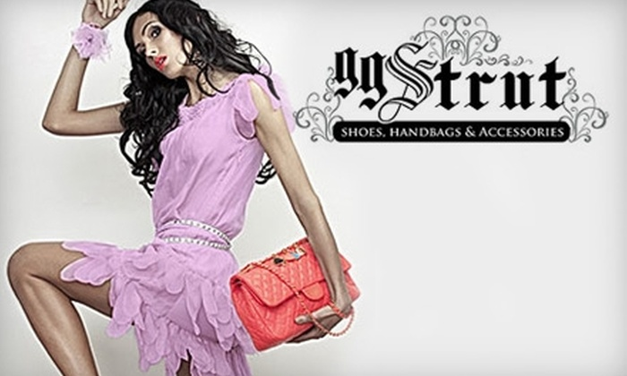 gg Strut Shoes, Handbags & Accessories - Smoketown: $25 for $50 of Fashionable Items at gg Strut Shoes, Handbags & Accessories
