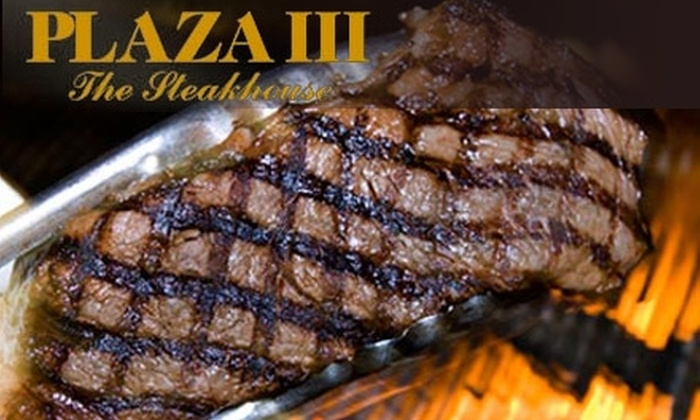 Plaza III The Steakhouse - Country Club Plaza: $30 for $60 Worth of Upscale Fare and Drinks at Plaza III The Steakhouse
