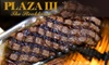 Plaza III - Country Club Plaza: $30 for $60 Worth of Upscale Fare and Drinks at Plaza III The Steakhouse