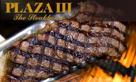 $60 Groupon to Plaza III The Steakhouse - Plaza III The Steakhouse in Kansas City