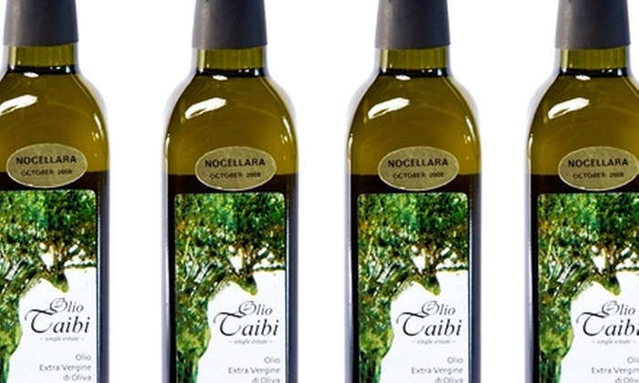 Olio Taibi: $25 for a Bottle of High-End Artisanal Olive Oil, Plus Free Shipping, from Olio Taibi ($49.99 Value)