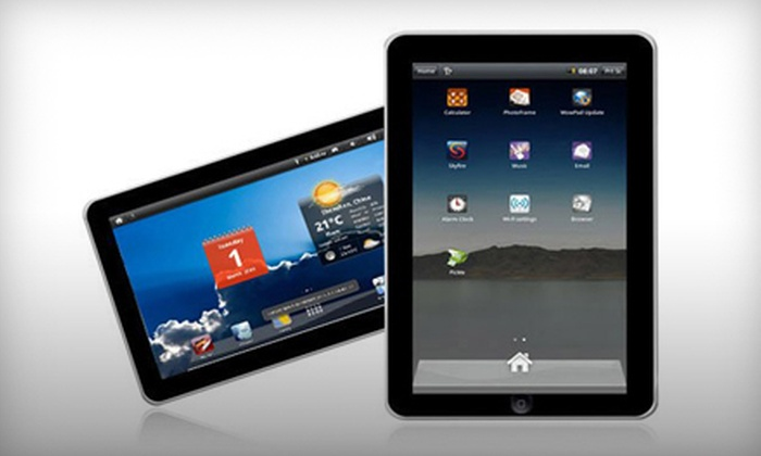 ZoomaFX: 7-Inch D.N.G Superpad i7 Tablet PC with 2 GB or 4 GB of Storage from ZoomaFX (Up to 66% Off)