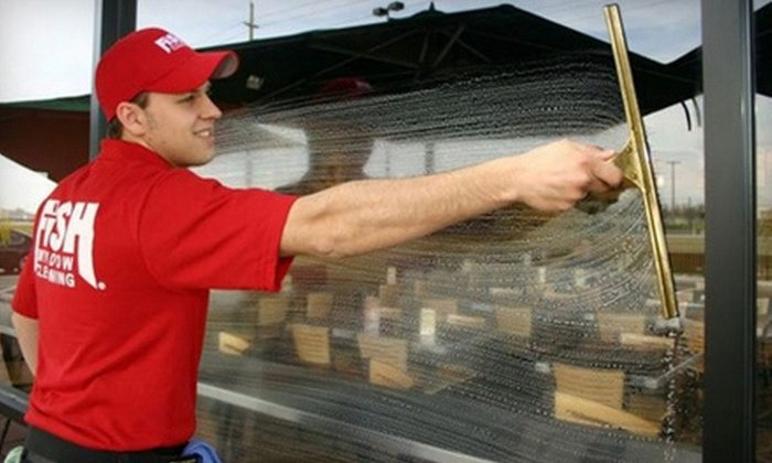 Fish Window Cleaning - Wesson Estates: $39 for $80 Worth of Window- or Gutter-Cleaning Services at Fish Window Cleaning