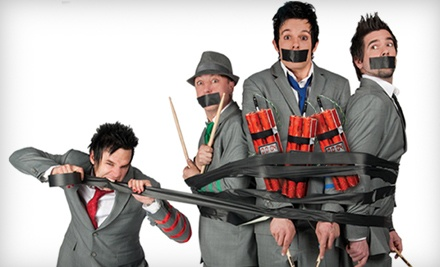 Recycled Percussion at the Tropicana Las Vegas Theater on Thursdays through Tuesdays at 7PM: VIP Seating - Recycled Percussion in Las Vegas