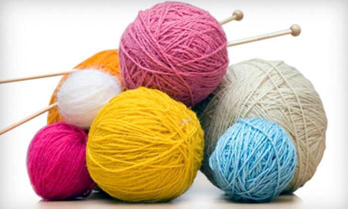 Far North Yarn Co. - Anchorage: $15 for Two Knitting Classes at Far North Yarn Co. ($30 Value)