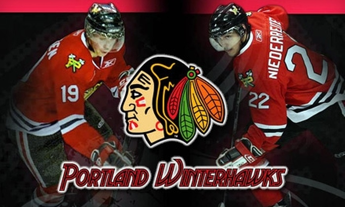Portland Winterhawks - Lloyd District: $14 for One VIP Club- or 100-Level Ticket to a Portland Winterhawks Game ($28 Value). Choose from Three Dates.