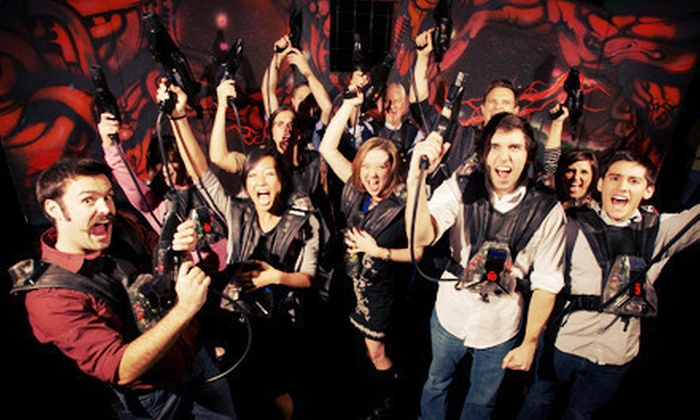 Stratum Lasertag - Mesa: $16.98 for Two Games of Laser Tag for Two at Stratum Lasertag (Up to $33.96 Value)