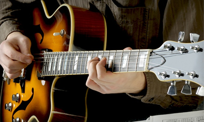 Guitar Cities San Francisco - San Francisco: Private Music Lessons at Guitar Cities San Francisco (Up to 52% Off). Four Options Available.