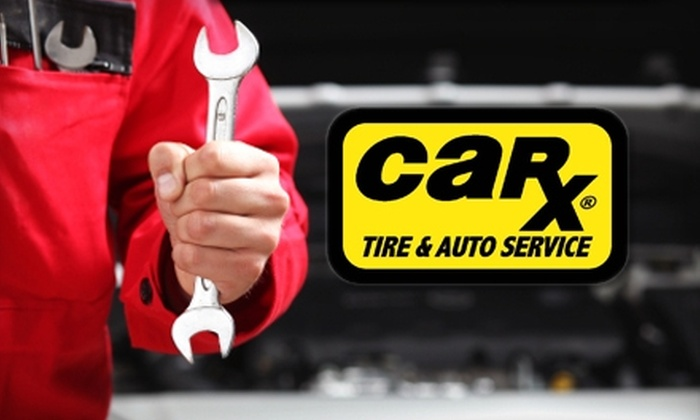 Car-X - Multiple Locations: $29 for an Oil Change, Tire Rotation, Wiper Blades, and 41-Point Courtesy Safety Inspection at Car-X ($99 Value). Choose From Four Locations.