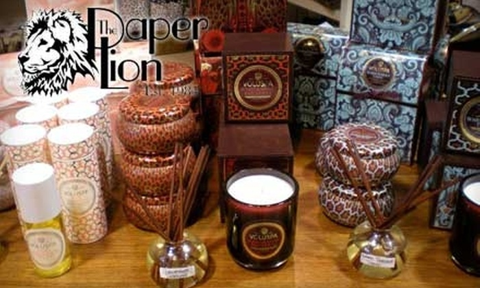 The Paper Lion - Edmond: $25 for $50 Worth of Gifts, Stationery, and Seasonal Items at The Paper Lion in Edmond