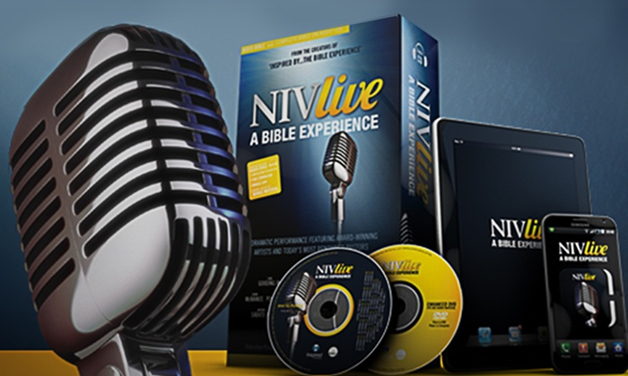 NIV Live: A New Bible Experience Audiobook : Celebrity-Voiced Audiobook of The Bible on 79 CDs. Free Returns.