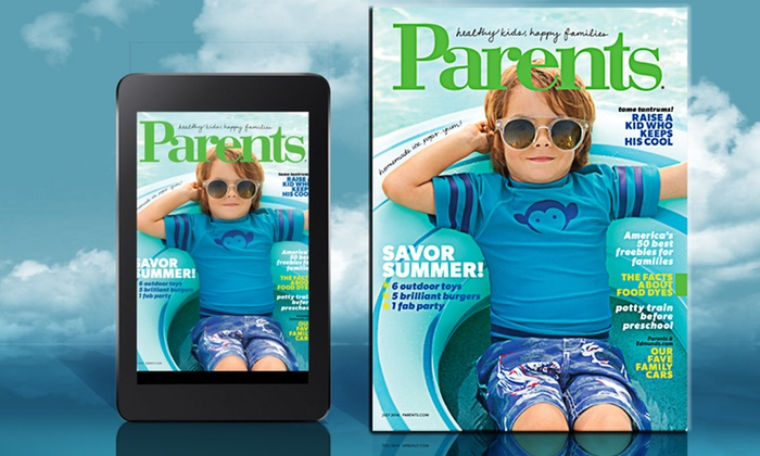 Parents Magazine: 2-Year Print or Digital Subscription to Parents Magazine (24 Issues)