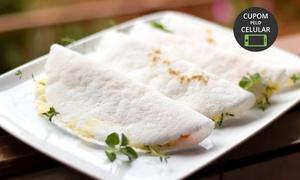 República Café : República Café – Samambaia Norte: sanduíche ou tapioca + suco