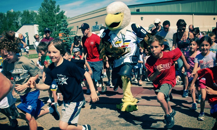 NCYH Power Play - Fort Collins: 5K or 10K NCYH Power Play Race Entry for One or Two at NoCo Ice Center on Saturday, August 17 (Up to 56% Off)