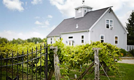 $19 for a Wine Tasting with Chocolates and Souvenir Glasses for Two at Miranda Vineyard ($36 Value)