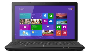 """Toshiba Satellite 15.6"""" Laptop With Amd Quad-core Processor And 4gb Ram (manufacturer Refurbished)"""
