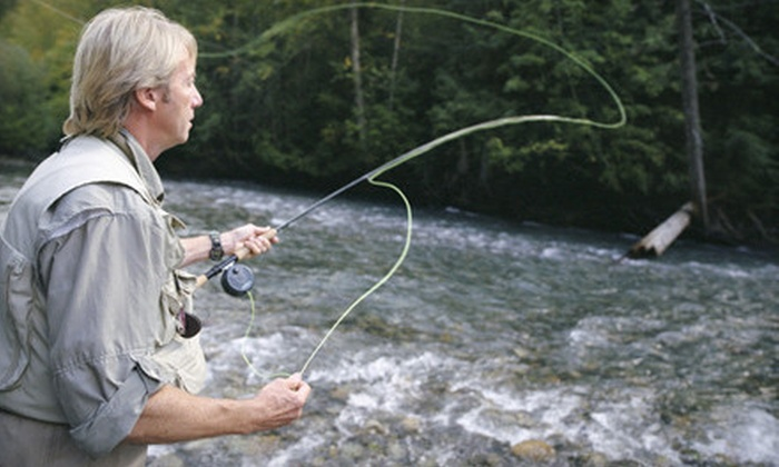Rod & Gun Guide Services - Green Hills: One- or Two-Hour Fly-Fishing Lesson for Up to Two from Rod & Gun Guide Services (Up to 75% Off)